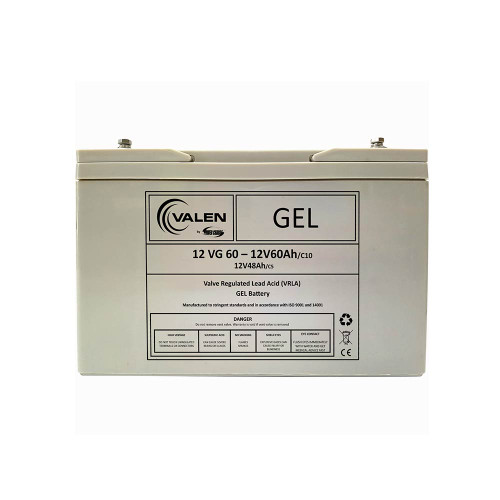 Gel Battery Valen 12v 60ah