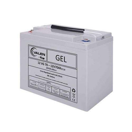 Gel Battery Valen 12v 70ah