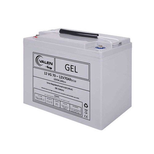 Gel Battery Valen 12v 70ah