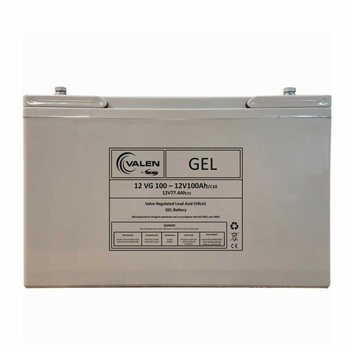 Gel Battery Valen 12v 100ah