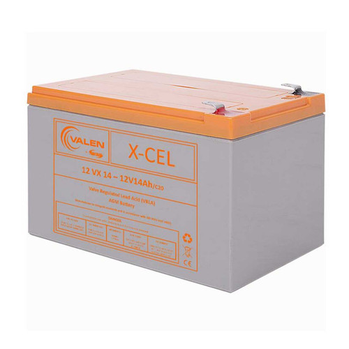 Battery Valen 12v 14ah superior to 12v 12ah