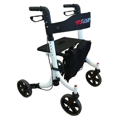Mobility Walker Lightweight Folding  White