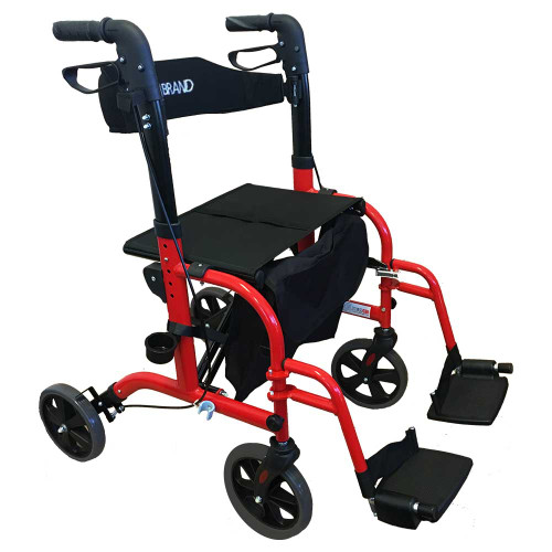 Rollator Walker Wheelchair Duo