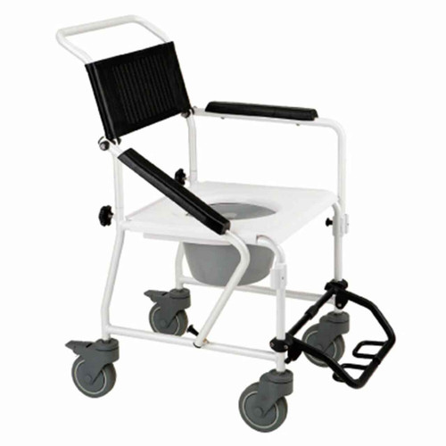 Wheeled Shower & Toilet Commode RG8923