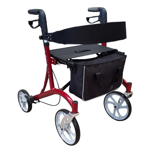 Grand Euro Mobility Walker Red