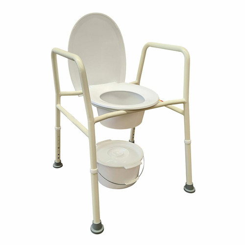 Heavy Duty Over Toilet Aid Commode