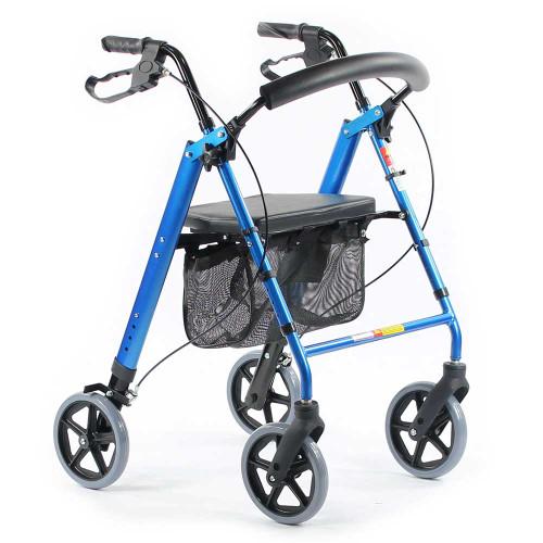 Height Adjustable Mobility Walker PA332BLU
