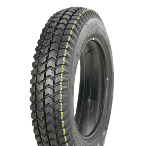 Tyre 3.00-8 Black Solid Foam Filled