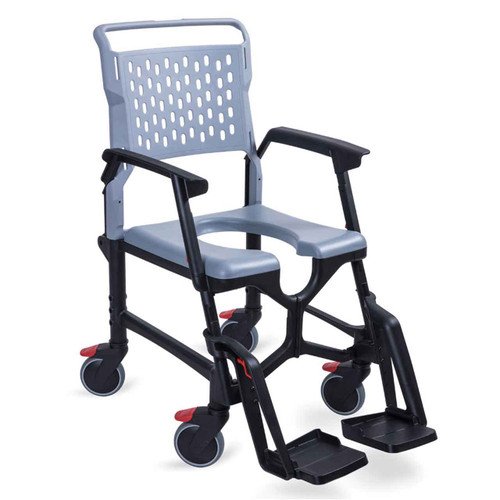 Portable Wheeled Toilet & Shower Commode