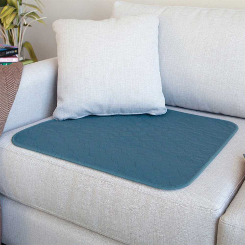 Conni Washable Chair Pad Large Teal