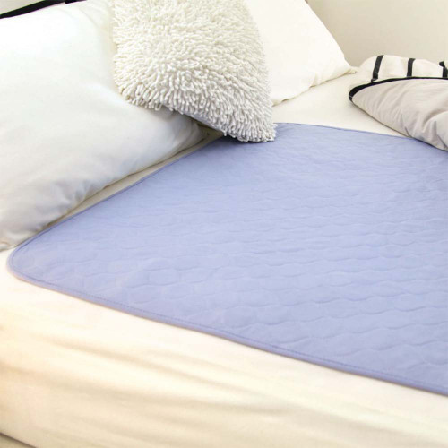 Conni Waterproof Bed Pad Mauve
