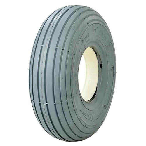 Tyre 3.00-4 Solid Foam Filled Ribbed