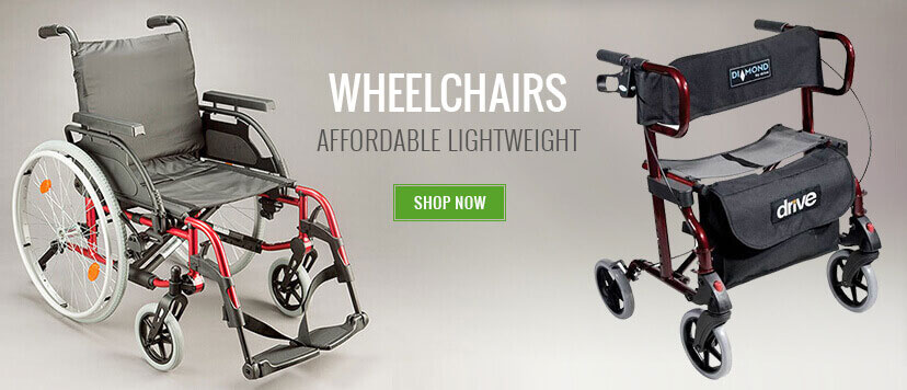 Wheelchairs of all types. Manual electric lightweight  bariatric transit and economy. Select from this selection today.