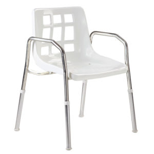 The stainless steel shower chair is just one of the many disabled bathroom & toilet aids featured in this category