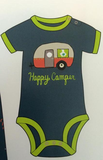 Happy Camper Glamping Baby Onesie