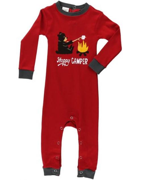 Happy Camper Infant Pajama Union Suit