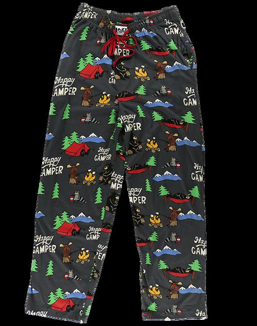 Happy Camper Unisex Pajama Bottoms