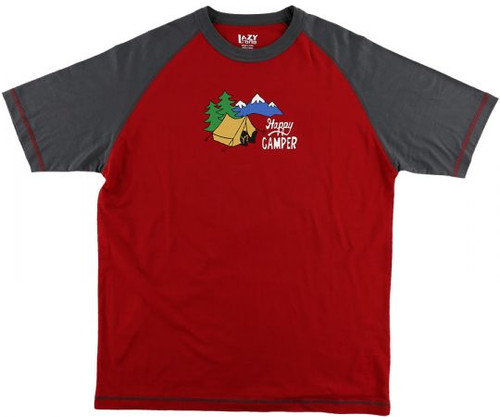 Happy Camper Unisex Pajama Top