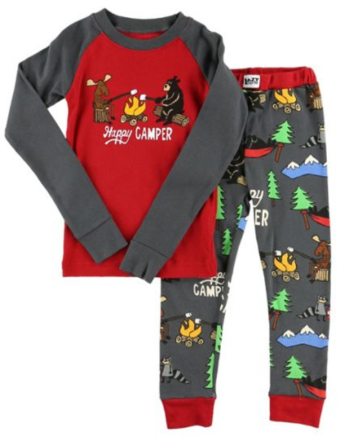 Happy Camper Kids Pajama Sets