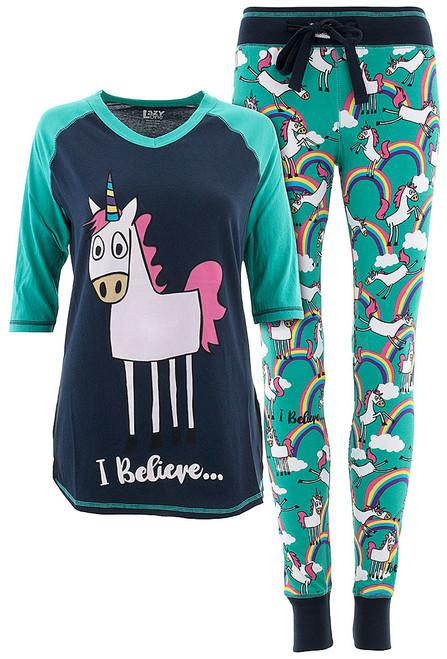 I Believe Unicorn Pajamas