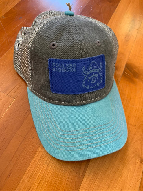 Viking Poulsbo Washington Trucker Hat