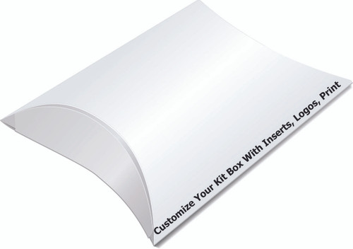 PILLOW BOX FOR KITS (PRICED IN 100 UNIT INCREMENTS)