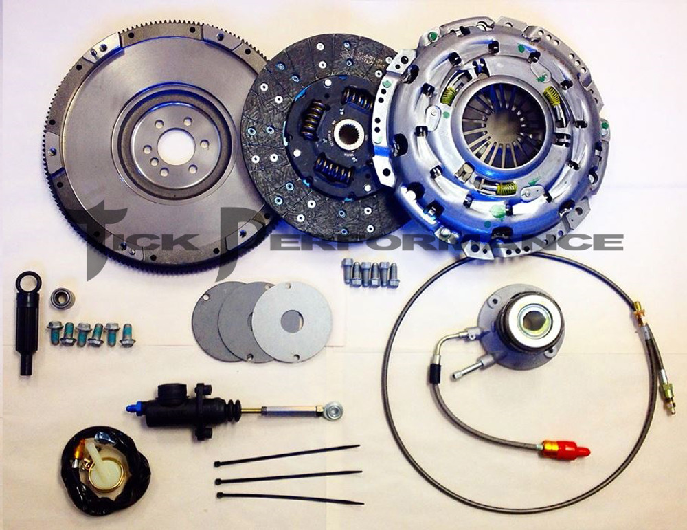Tick Performance LS7 Complete Clutch & Hydraulic Upgrade Package for 1997-04 Corvette & Z06