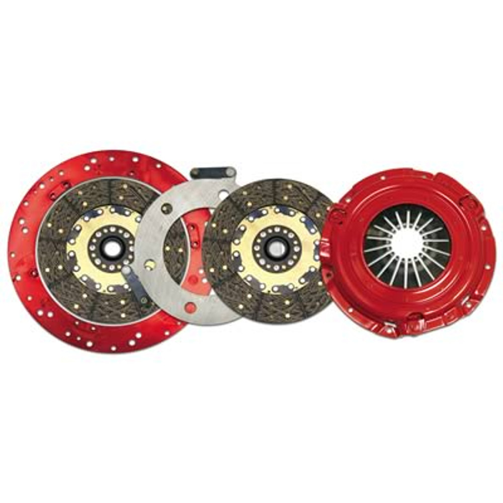 McLeod Racing 4752-00-07 Soft LOK II Two Disc Assembly MOPAR All SB and BB 6 Bolt Crk 26 Spl 168