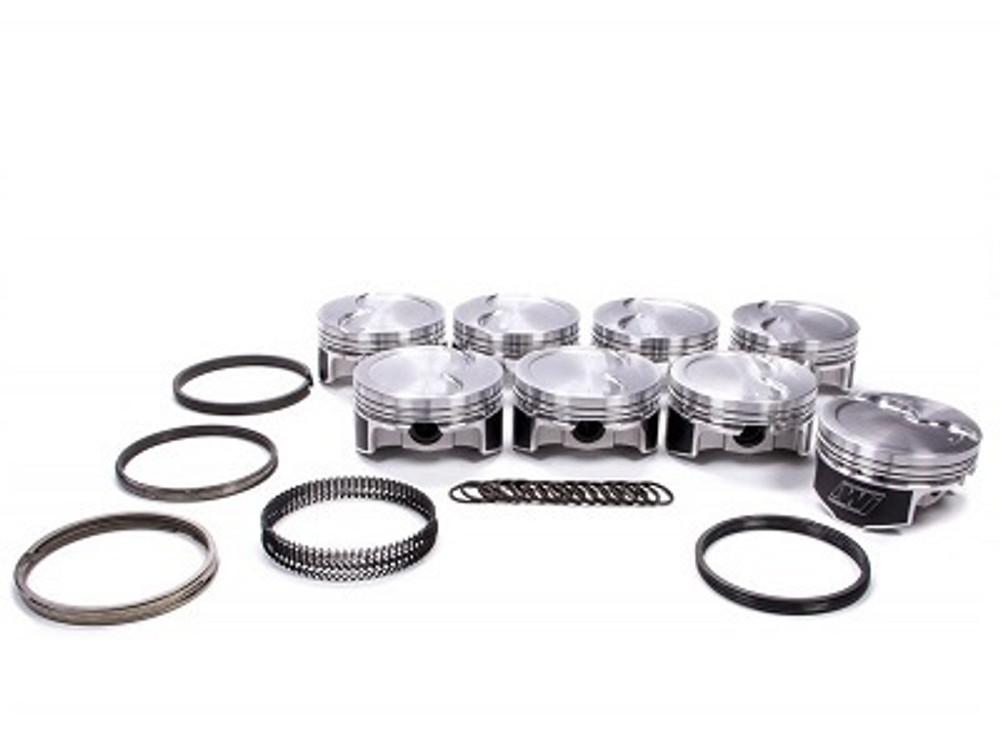 Wiseco Piston Kit LS Series -15cc R/Dome 1.110x4.030, Part #K445X3