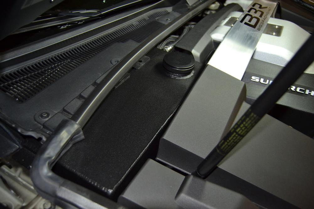 Big 3 Racing CTS-V Supercharger Coolant Reservoir, Part #CTSV-B