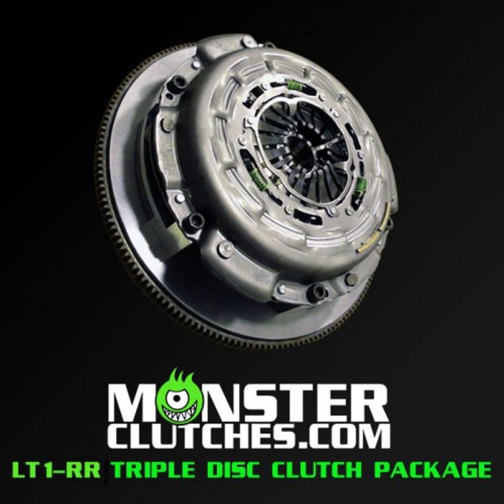 Monster LT1-RR Triple Disc Clutch and Flywheel Package (Torque Capacity: 2000RWTQ)