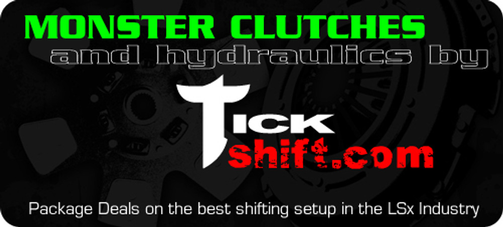 Tick & Monster Complete Clutch & Hydraulic Upgrade Package for 2005-13 Corvette C6 & Z06 (TPMCCPC6)
