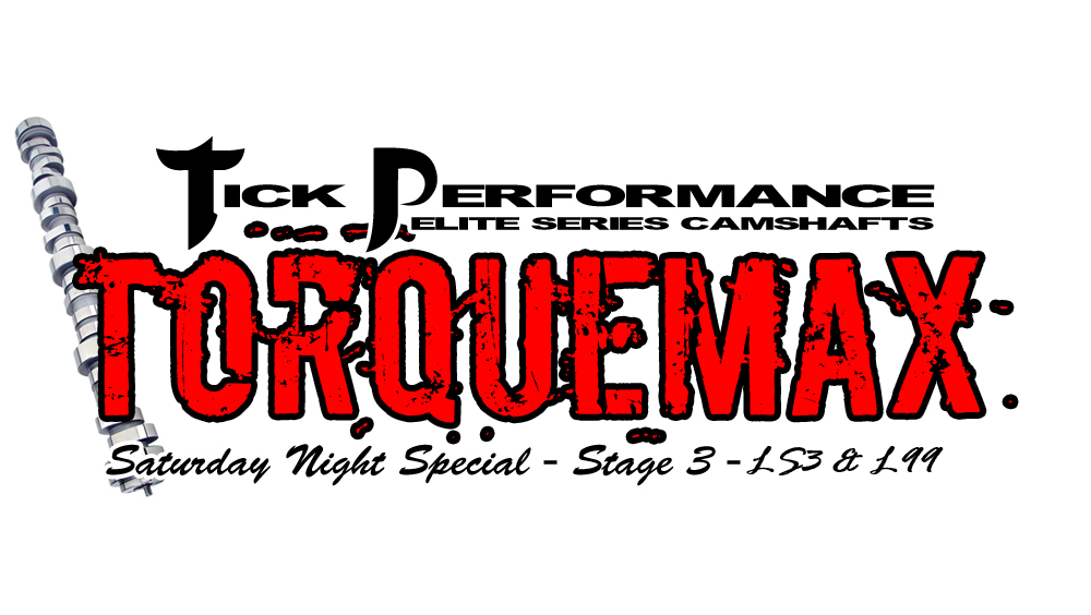 Tick Performance SNS TorqueMAX Stage 3 Camshaft for LS3 & L99 Engines SNS0033