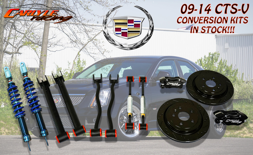 Carlyle Racing 2009-15 CTS-V 15″ conversion Kit