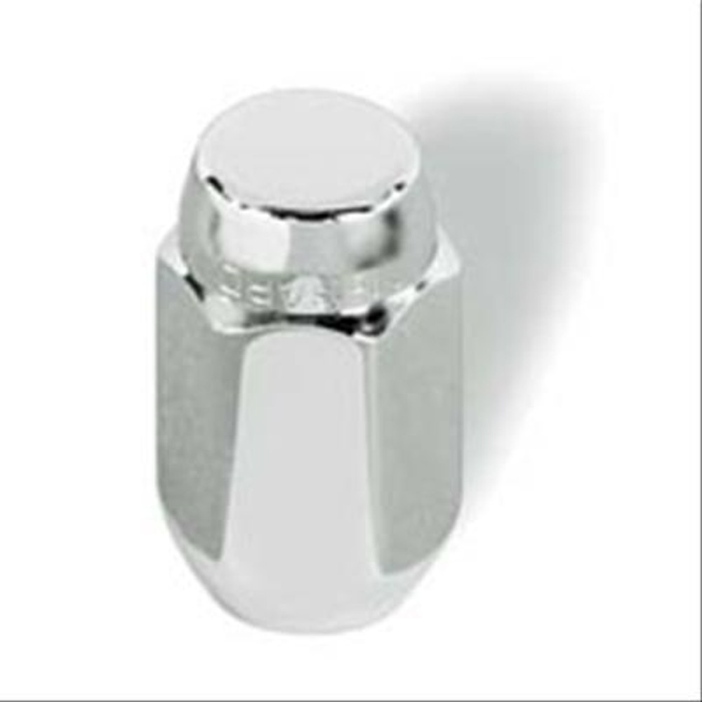 Mc Gaurd Lug Nuts, Conical Seat, 12mm x 1.50 RH, Closed End, Chrome Plated Steel, Set of 4 PN: 64002