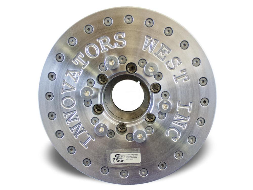 Innovators West 8-Rib Harmonic Balancer for LS7 Corvette - Standard Diameter
