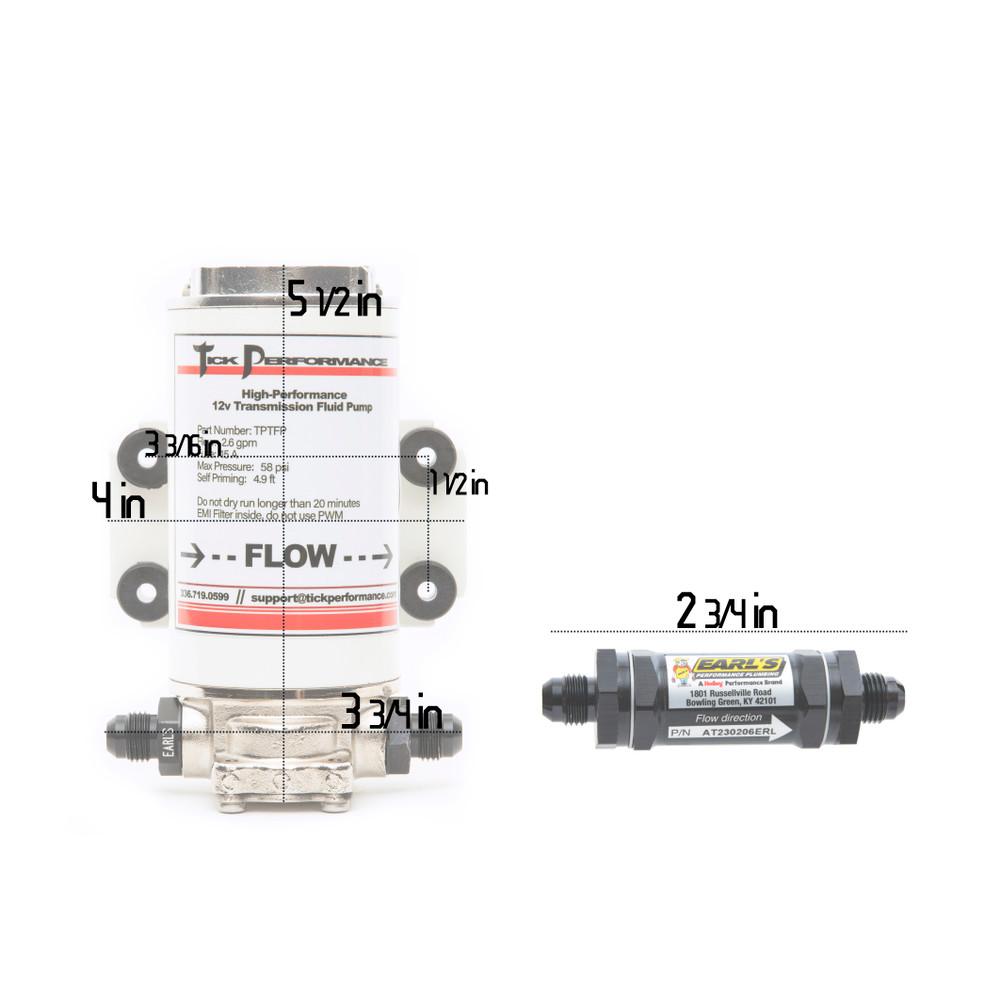 Hi-flow transmission fluid pump kit.