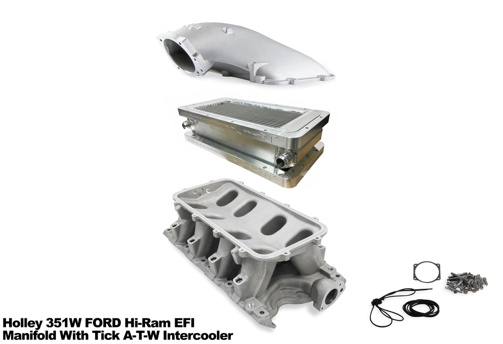 Combo Hot Deal: Tick 1,400hp Air-to-Water Intercooler and Holley Ram Intakes