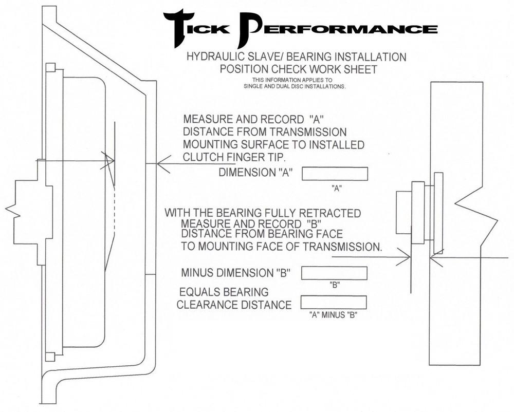 "Tick Performance Slave Cylinder Shim (.055"")"