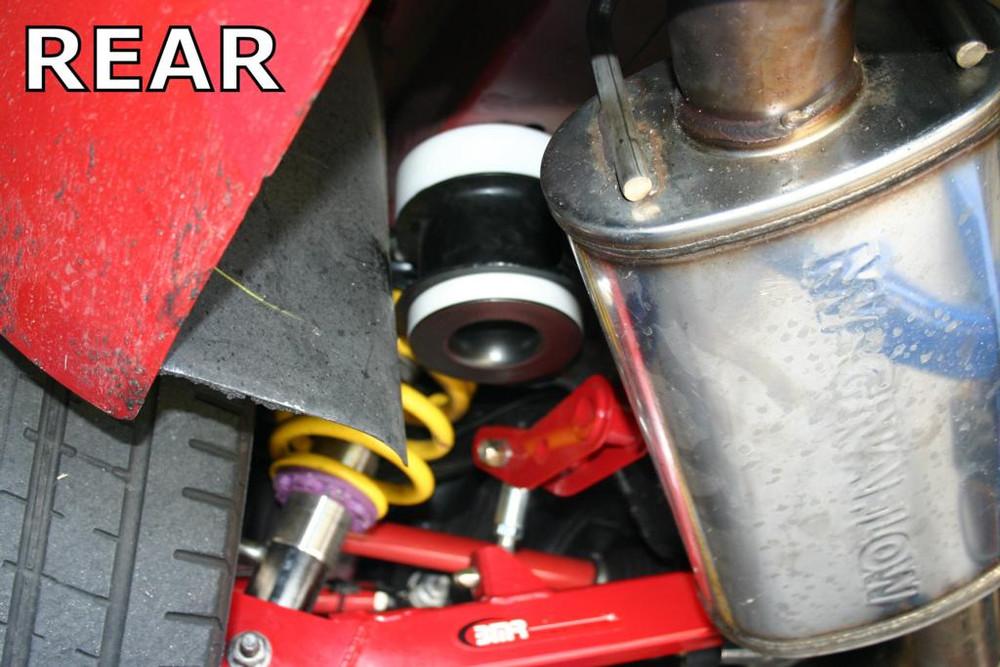 BMR Delrin Rear Cradle Bushing Kit for 2010+ Camaro (Race Version)