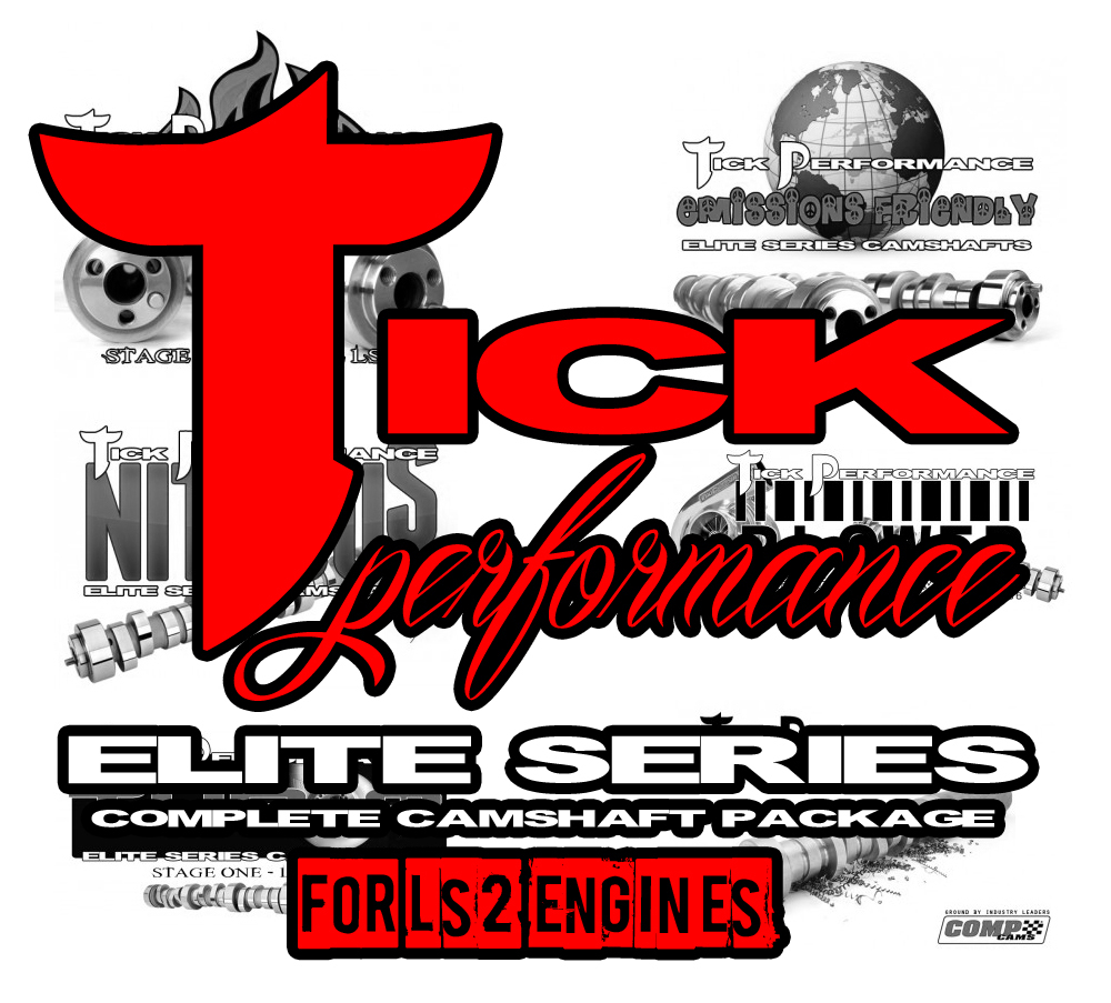 Tick Performance Elite Series Camshaft Package for LS2 Engines
