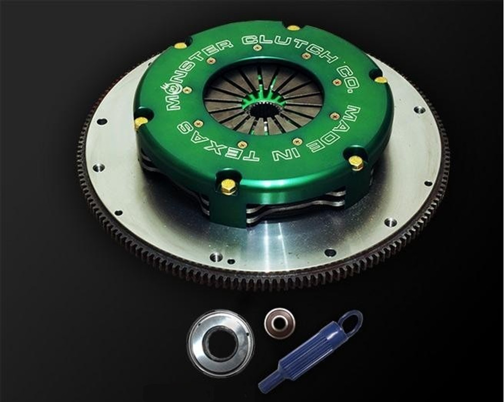 "Monster Level 2 Twin Disc 8.5"" Clutch & Flywheel Package (torque capacity: 1000)"