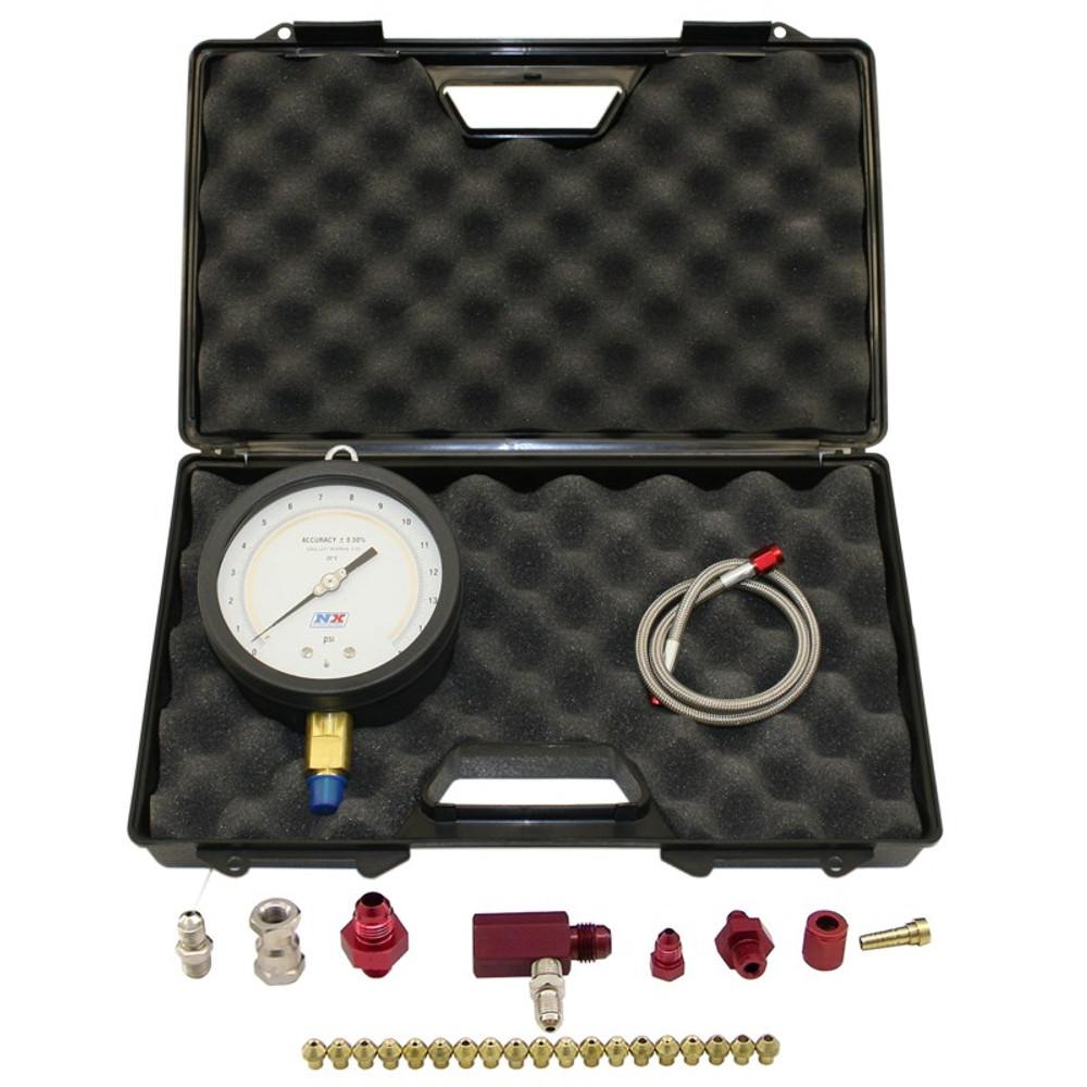 Nitrous Express Master Flo-Check Pro (6 Certified Gauge & Molded Case) #  15529