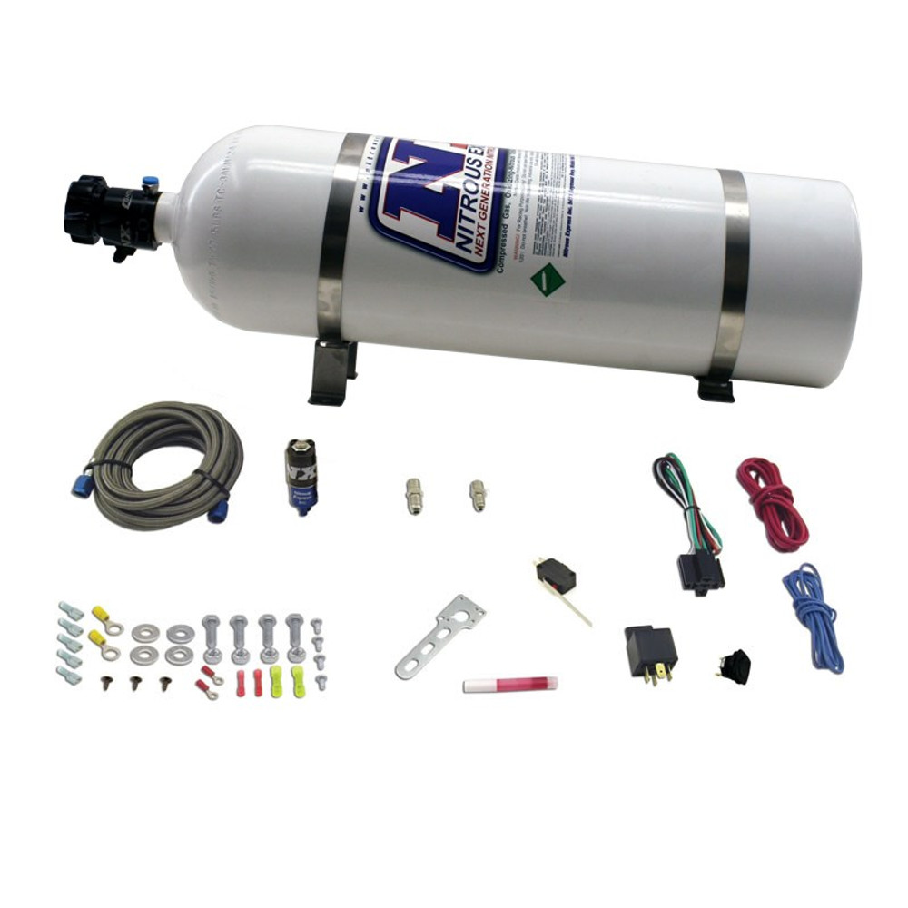 Nitrous Express 15946 15 lbs Insulated Jacket Bottle