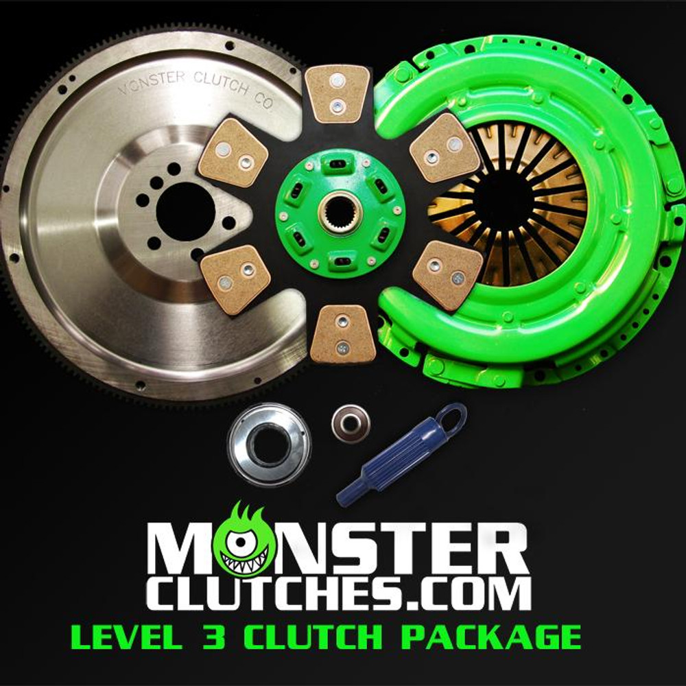 Monster Level 3 Clutch & Flywheel Package (torque capacity: 700)