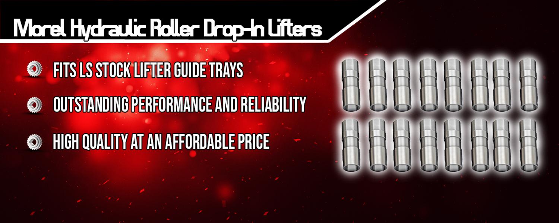 Morel Hydraulic Roller Drop-In Lifters