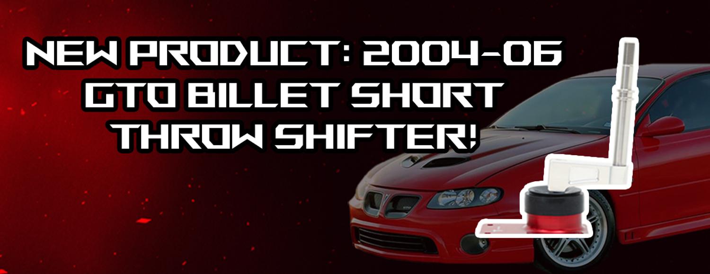 New GTO Short Throw Shifter!