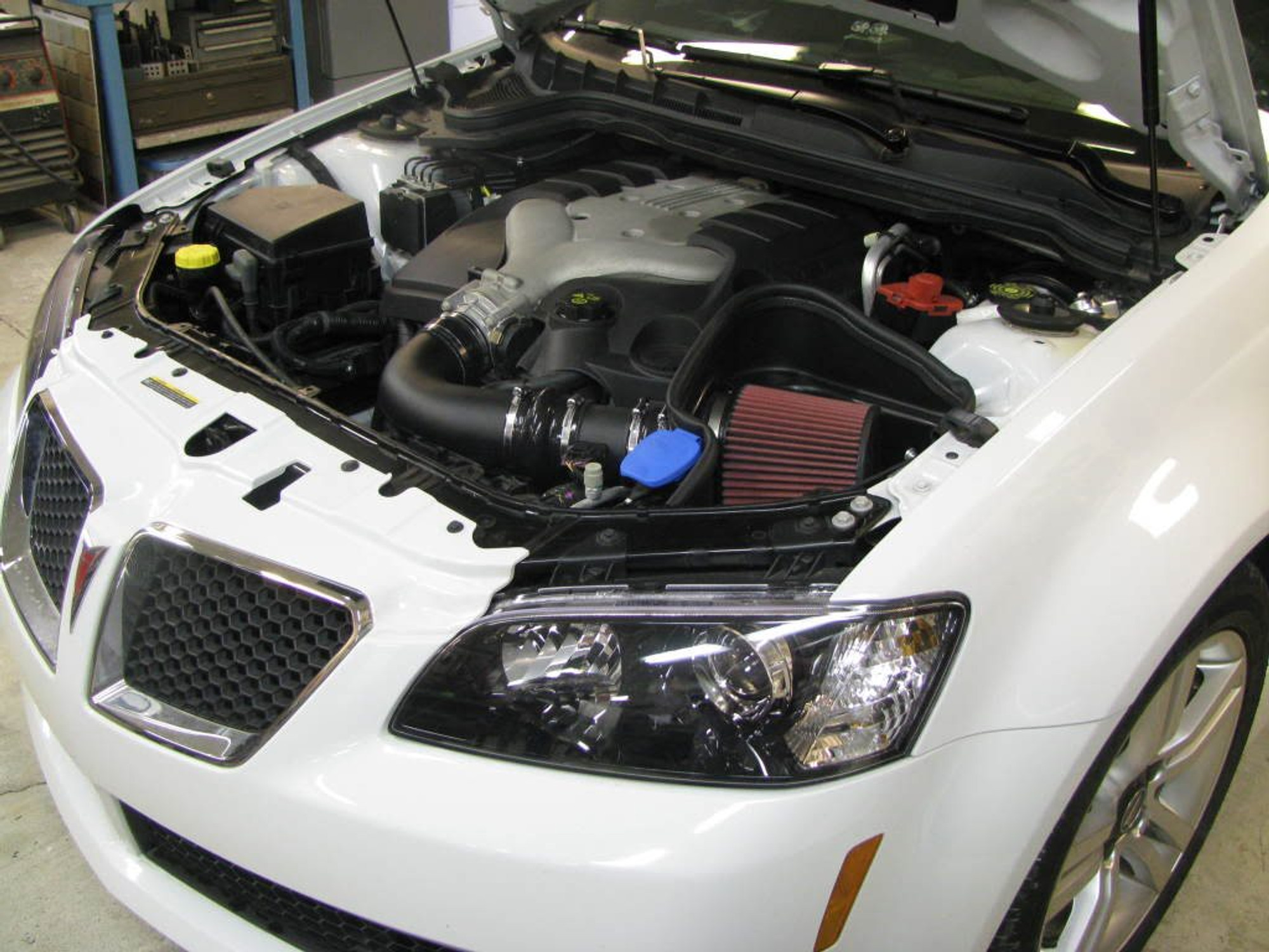pontiac g8 v6 stock exhaust