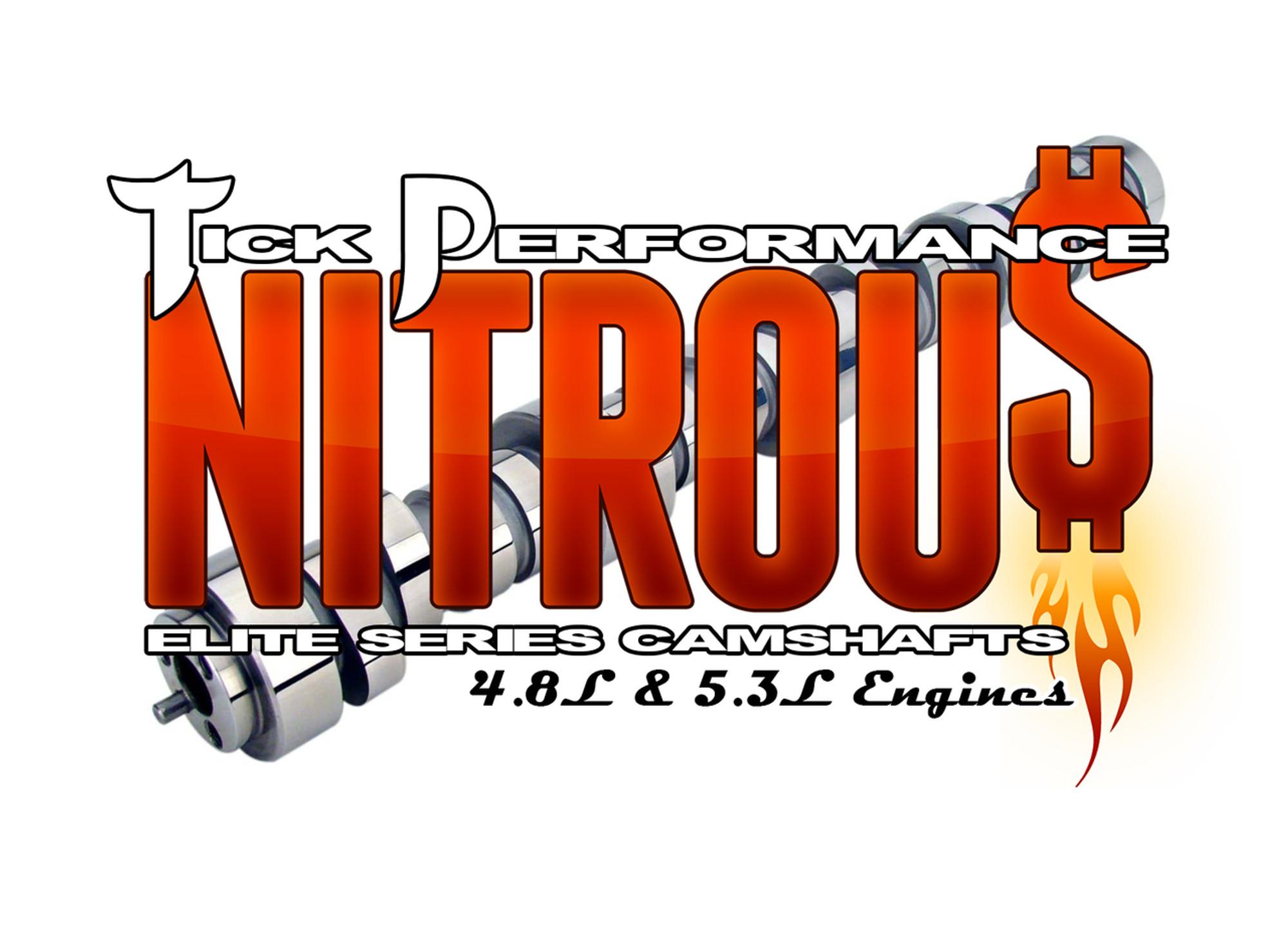Tick Performance NITROU$ Camshaft for 4 8L & 5 3L Engines