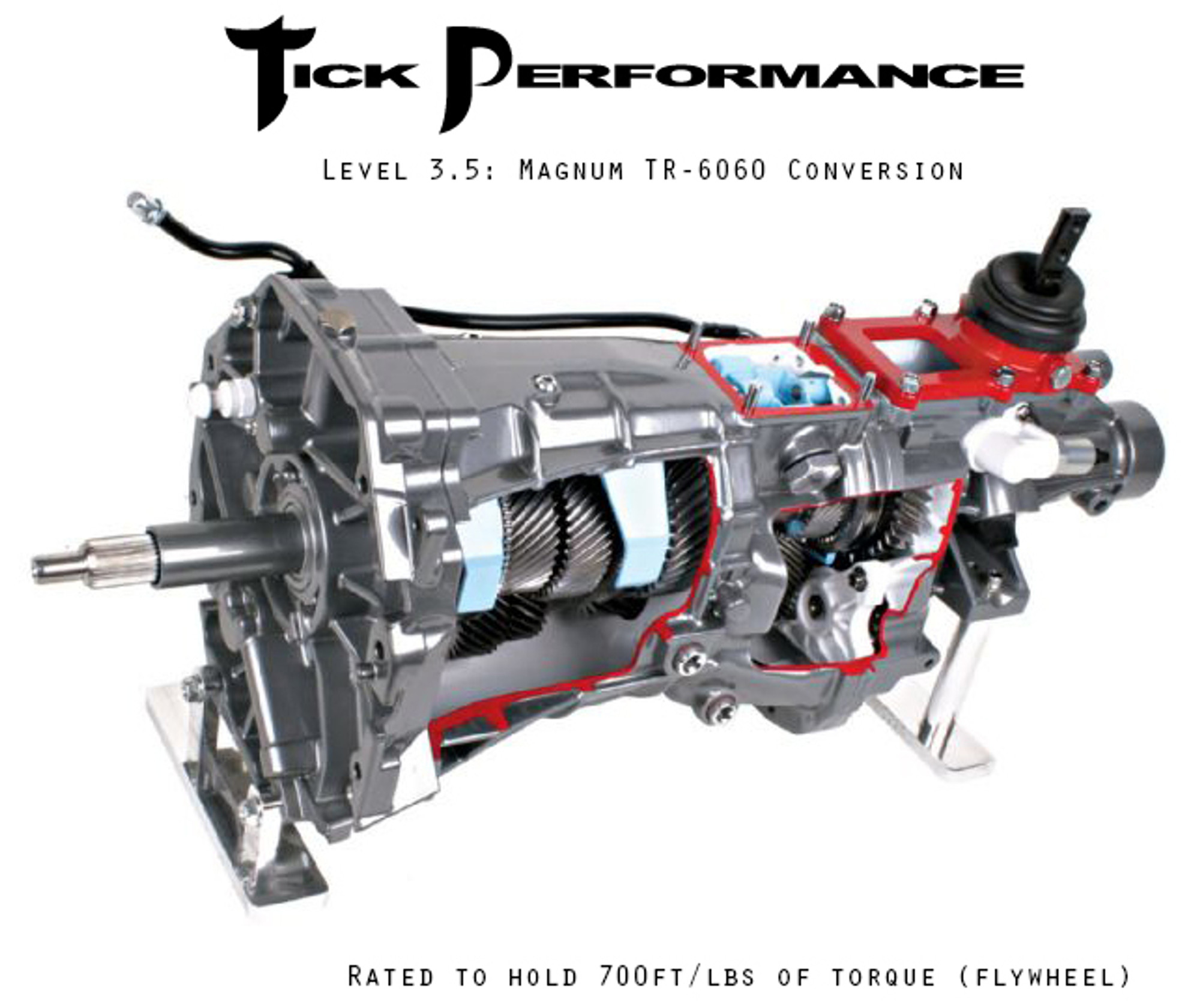 Tick Performance Level 3 5 Magnum TR-6060 Conversion (700FWTQ) for 98-02  Camaro & Firebird